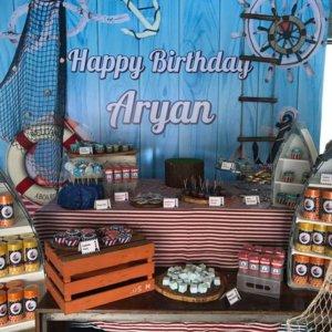 Nautical Theme Birthday Party