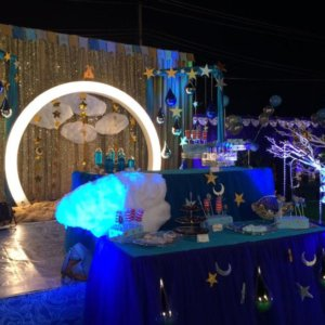 Twinkle Twinkle Little Start Birthday Theme Decoration