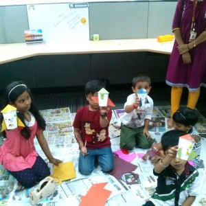 Art Blend Cafe Paper Craft Workshop