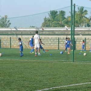 BFC Soccer Schools, Bangalore, Football Grounds