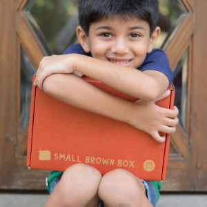 Small Brown Box My Activity Box