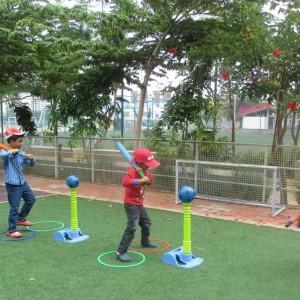 SportyBeans Kids Baseball Class