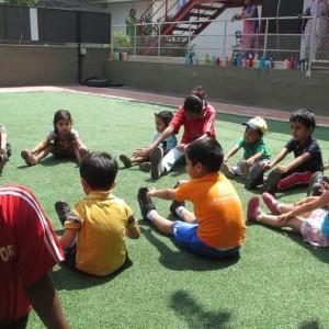 SportyBeans Kids Floor Exercise