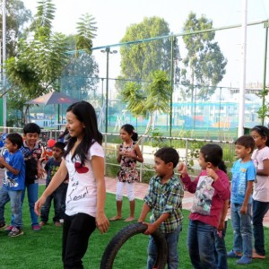 Sun Bird Early Learning Centre Fun Games at the birthday