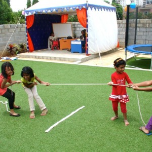 Sun Bird Early Learning Centre Games at the Birthday
