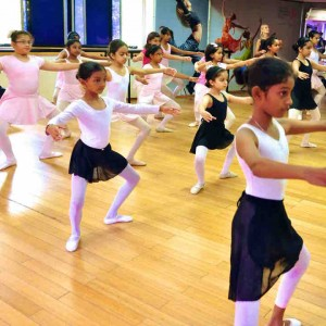 The Lewis Foundation Ballet Class for kids