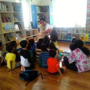 Discover Kids Storytelling Session