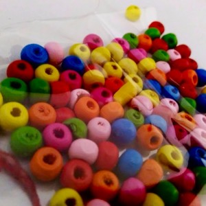 friendship day colorful beads