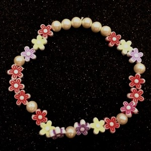 friendship day colourful flower beads