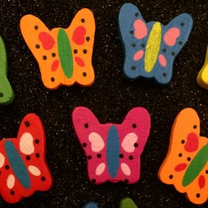 friendship day butterfly beads