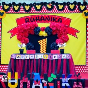 Jamboree Minnie Mouse Backdrop