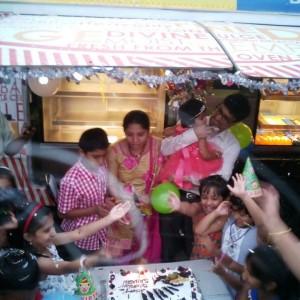 Just Bake Birthday Cake Cutting