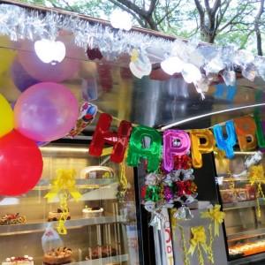 Just Bake Truck Birthday Decoration