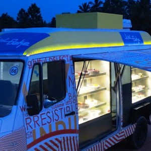 Just Bakes Mobile Truck Parked for Kids