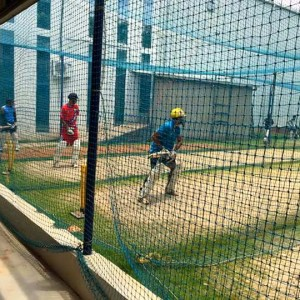 Just Cricket Academy Practice Session