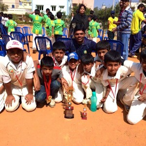 Just Cricket Academy The Winning Team