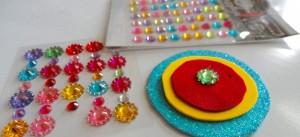 Make a rakhi, DIY, handmade
