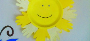 DIY Smiley Sun, paper craft