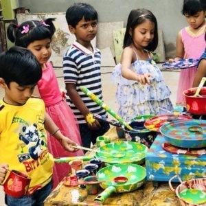 Kids enjoying at The Spinning Wheel