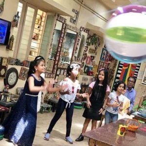 Birthday Party at Art n Craft Birthday Party at The Spinning Wheel