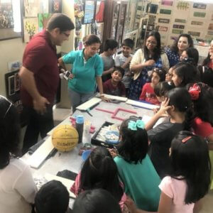 Art & Craft Activity at The Spinning Wheel