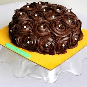 Ashels Baking Heaven Chocolate Buttercream Cake