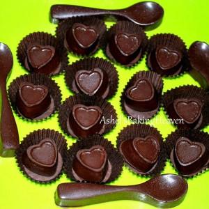 Ashels Baking Heaven Chocolate Heart and Spoon