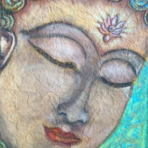 Chhavi Art Classes Beautiful Buddha Painting