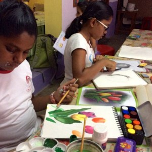 Colour Crafts Art Class Painting