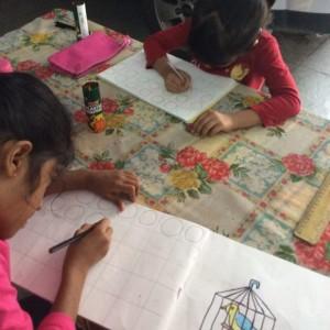 Colour Crafts Art Class Drawing Basics