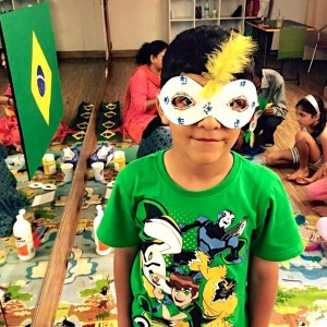Globetrippers Mask Making Activity