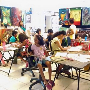 Konsult Art & Design Academy Children during Art Class