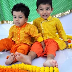 Little Stars Ethnic Dhoti Kurta