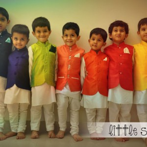 Little Stars in Ethnic Bandhis