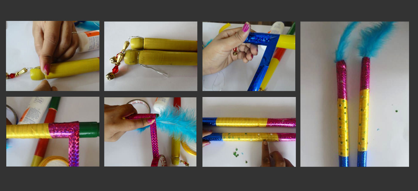 DIY: Decorate your own dandiya sticks this Navratri Cover Image