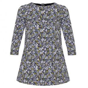 Gap Floral Long Sleeve Dress