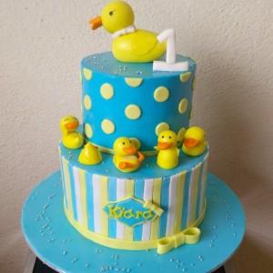 Melt It Down Duck Cake