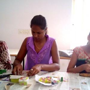 Panduranga Arts Clay Painting