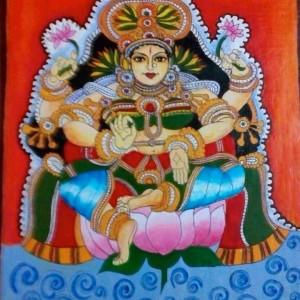 Panduranga Arts Water Painting