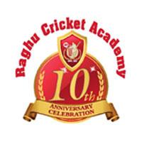 Raghu Cricket Academy Logo