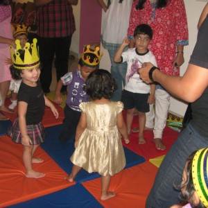 Rhythm and Rhyme dancing to some rhythm