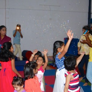 RnR Fit Birthday Party Bubble Fun