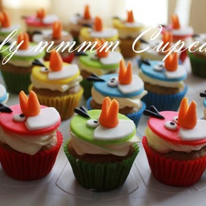 Simplymmmm Cupcakes Angry Bird Theme Cupcake