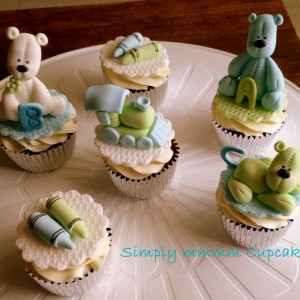 Simplymmmm Cupcakes Baby Shower Cupcake