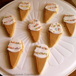 Simplymmmm Cupcakes Ice cream Cookies