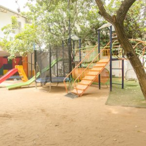 Outdoor Play Space at Gaia Preschool & Daycare