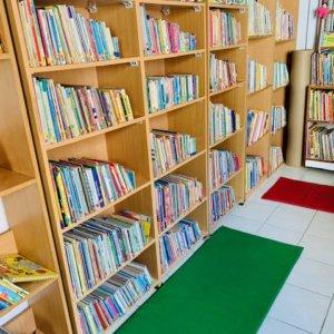 Library at Gaia Preschool & Daycare