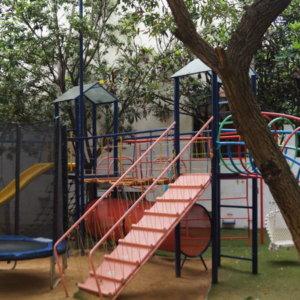 Play area of Gaia Preschool & Daycare