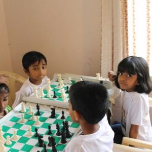 Bangalore Chess Academy Students Learning