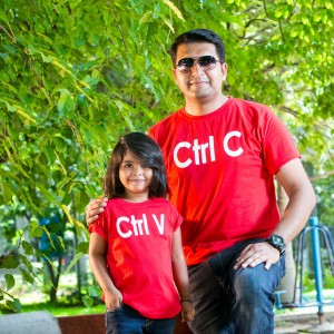 BonOrganik Father and Daughter Similar Clothing Red and White Check Shirt.jpg